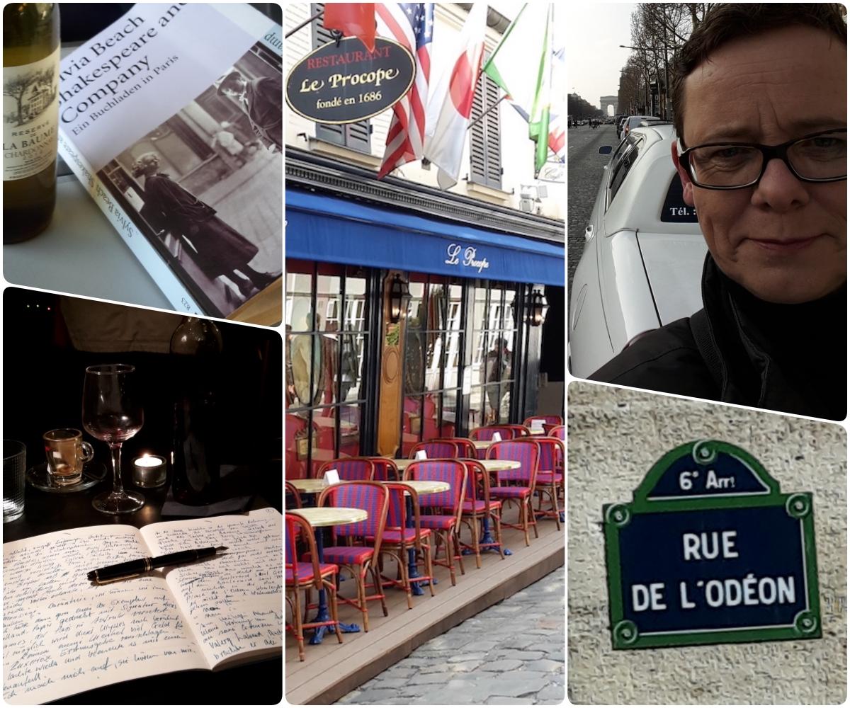 Collage zu Odéonia, Paris